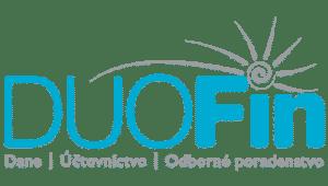 logo spoločnosti DUOFin zaoberajúcej sa vedením účtovníctva